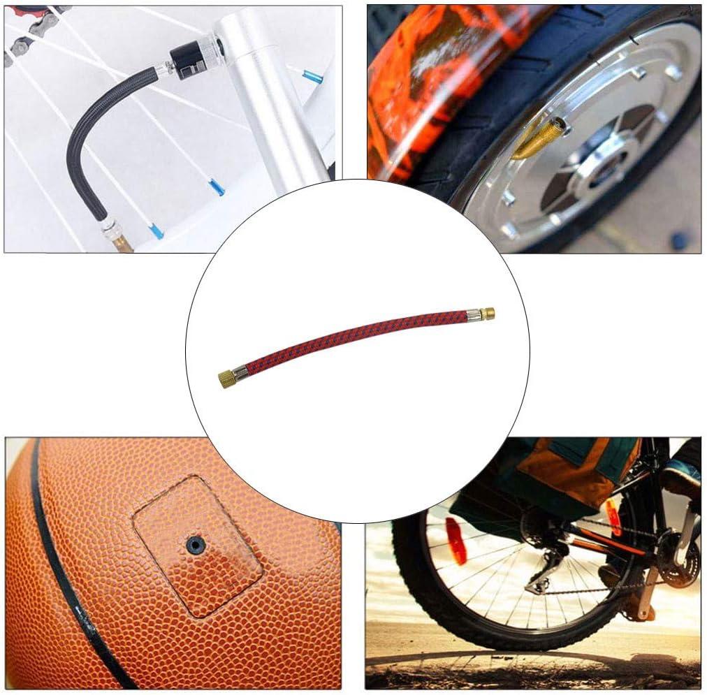 DEtrade - Manguera para bombas de bicicleta, adaptador, aguja ...