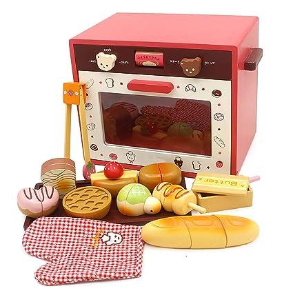 QPP-CL Juego De Cocina De Microondas Toy Kitchen, Juego De Juguete ...