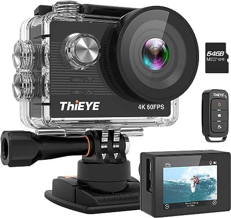Thieye Action Cam T5 Pro Wahr 4k 60fps Wifi 20mp 360 Elektronik