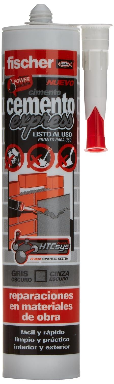 FISCHER 512348 - Cemento EXPRESS gris OSCURO: Amazon.es: Bricolaje y herramientas