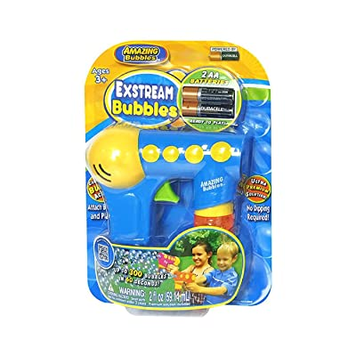 Amazing Bubbles Exstream Bubble Gun (Assorted Styles): Toys & Games