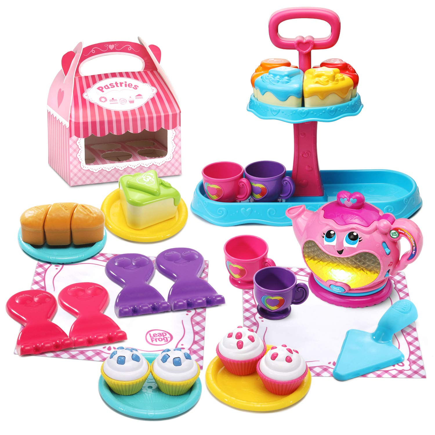 LeapFrog Sweet Treats Musical Deluxe Tea Set (Amazon Exclusive)