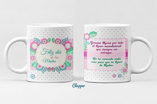 Clapper Taza Dia de la Madre Regalo Dia de la Madre Regalo para mam/á