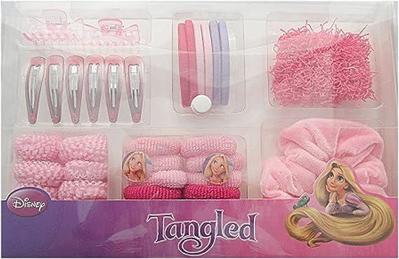 Disney Tangled Hair Accessories set in plastic case