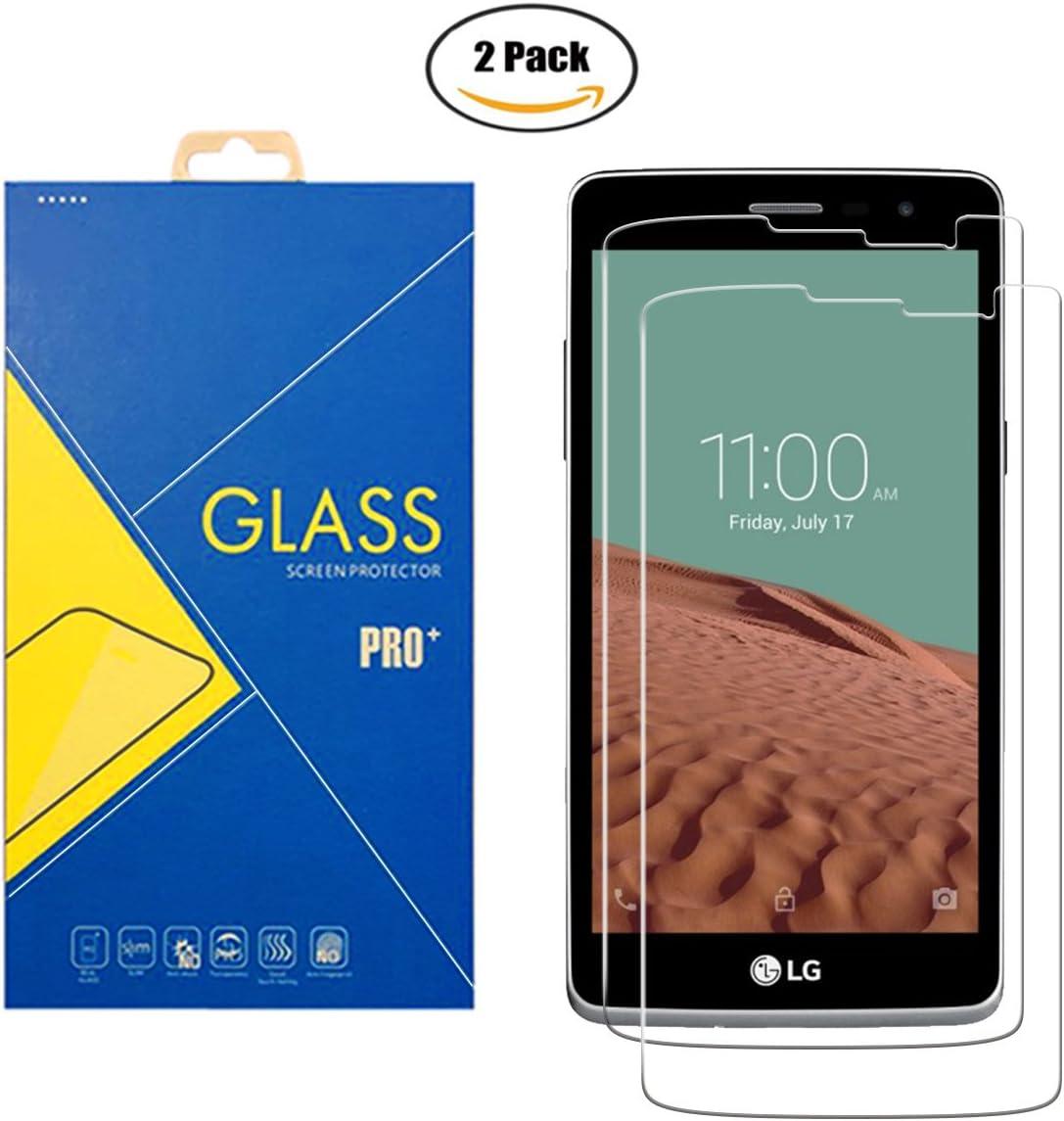 2 Pack] Protector Cristal Vidrio Templado LG L Bello D331 / L80+ ...