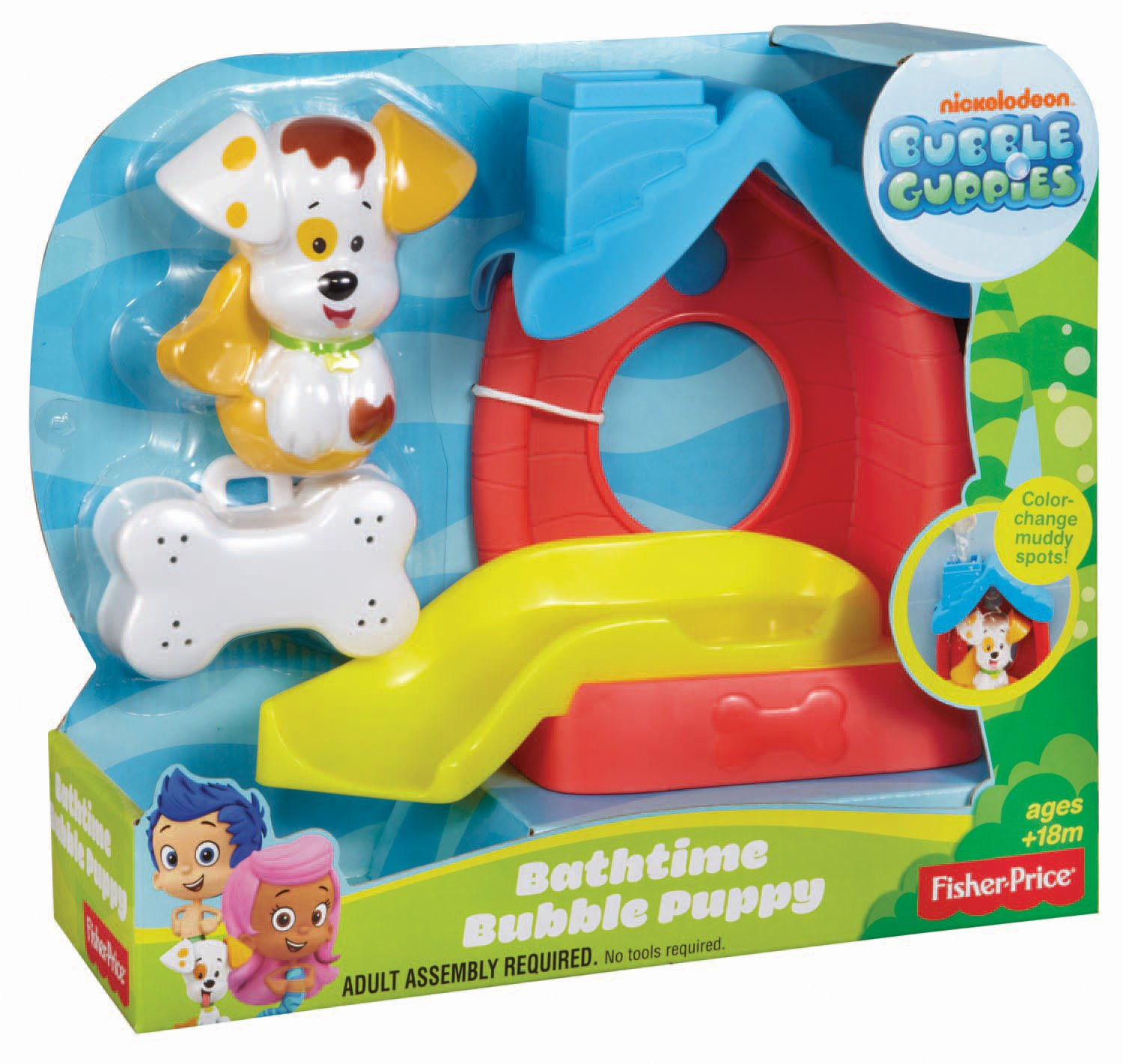 fisher price bubble guppies bathtime puppy amazon co uk toys u0026 games