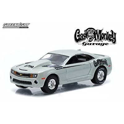 Greenlight 2013 Chevrolet COPO Camaro from The Show Gas Monkey Garage Collectibles 1:64 Scale GL Hollywood Series 10 Die Cast Vehicle: Toys & Games