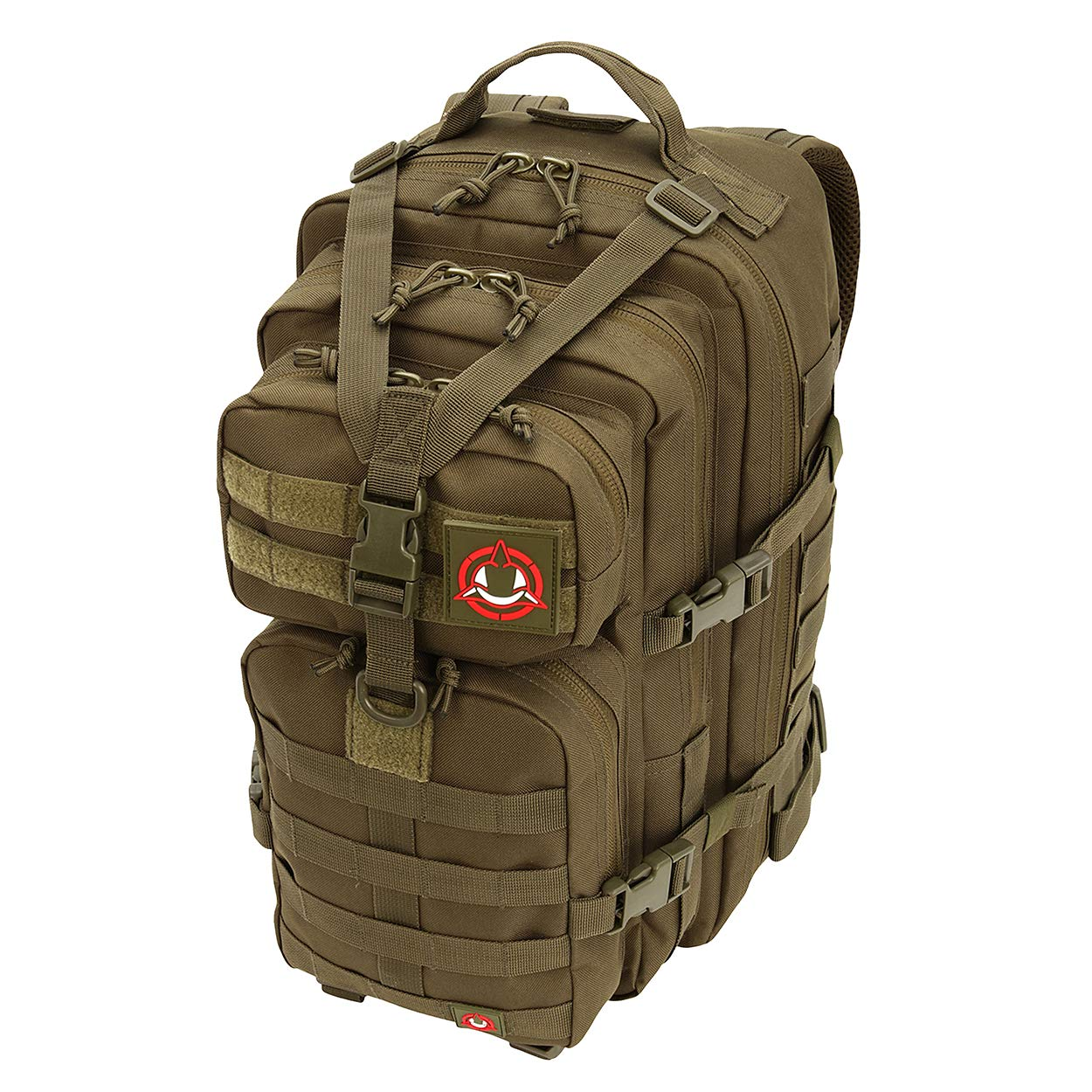 Orca Tactical Salish 34l MOLLE 1 – 2 Day Army MilitaryサバイバルバックパックバグアウトバッグリュックサックAssault Pack B07DKWKZZ6 グリーン(OD green)