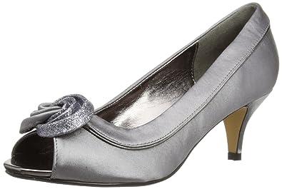 96bae7f6356 Lunar Womens Ripley Satin Court Shoes  Amazon.co.uk  Shoes   Bags