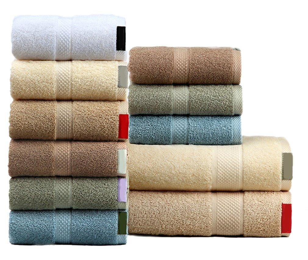 Elezay - Toalla de mano de algodón para baño, casa, hotel, spa, gimnasio: Amazon.es: Hogar