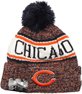 54b087be Amazon.com : Chicago Bears On Field 2018 Throwback Logo Sport Knit ...