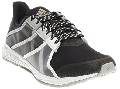 Adidas Women's Gymbreaker Bounce Grey / Black Ankle-High Mesh Running Shoe  - 5M
