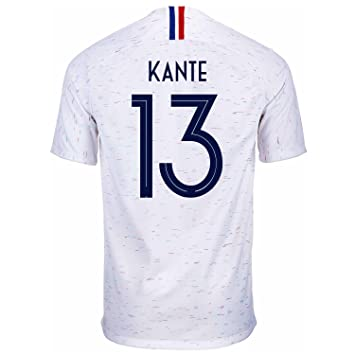 the best attitude f2886 479a9 Amazon.com : Nike KANTE #13 France Away Men's Soccer Jersey ...