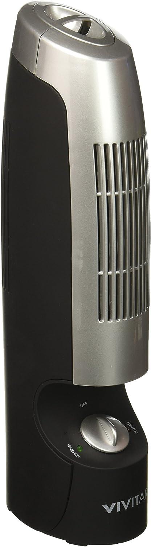 Vivitar Quiet Desktop Air Purifier and Ionizer
