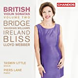 British Violin Sonatas Vol 2 [Tasmin Little; Piers Lane ] [Chandos : CHAN 10899]