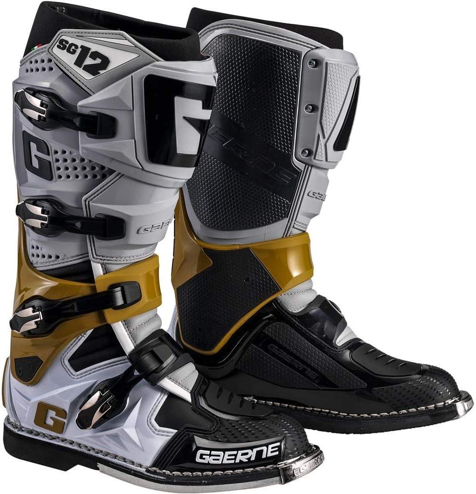 Gaerne SG-12 Boots-Grey//Magnesium//White-9