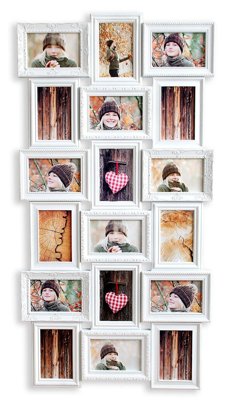 Niedlich Bilderrahmen Die Viele Fotos Halten Fotos ...