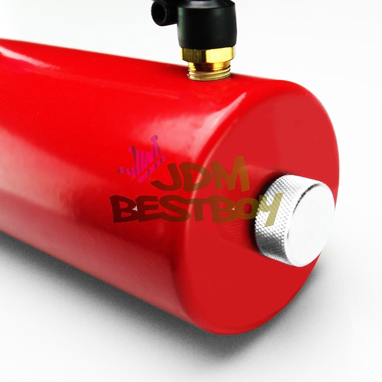 jdmbestboy rojo alta capacidad Billet Aluminio Motor ...