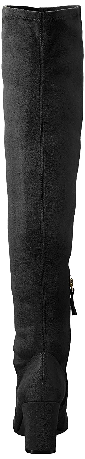 Nine West US|Black Women's Xperian B005B0W5YS 9.5 B(M) US|Black West Stretch Suede Fabric ea3945