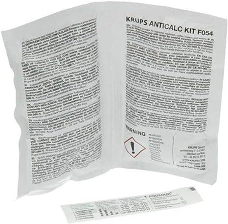 Krups F0540010 Kit Descalcificación, Plastic, Multicolor: Amazon ...