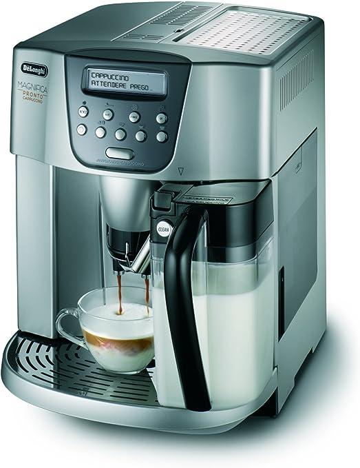DeLonghi ESAM 4506 - Cafetera (Independiente, Cafetera combinada, 1,8 L, Molinillo integrado, 1350 W, Plata): Amazon.es: Hogar