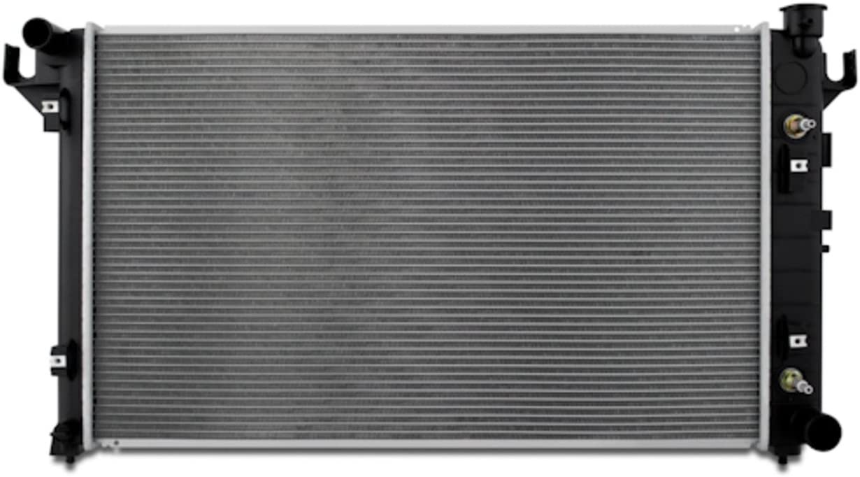 Silver 1998-2002 Mishimoto R2291 Dodge Ram 2500//3500 5.9L V8 Replacement Radiator