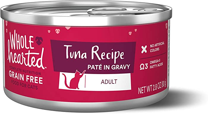 WholeHearted Grain Free Tuna Recipe Pate Adult Wet Cat Food
