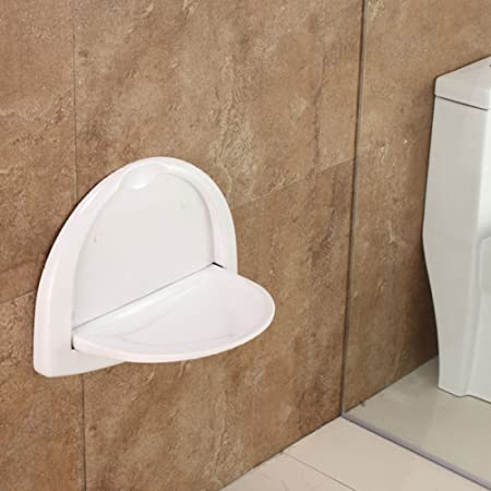 GUOHONGCX Shower Chair Shower Wall Chair Bathroom Folding Chair ...
