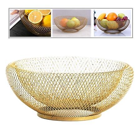 Fashionmall Juego de 2 cuencos decorativos de frutas para sala de ...