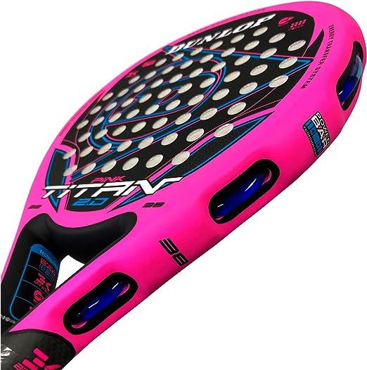 Dunlop Pala de Padel Titan 2.0 (Rosa): Amazon.es: Deportes y aire ...