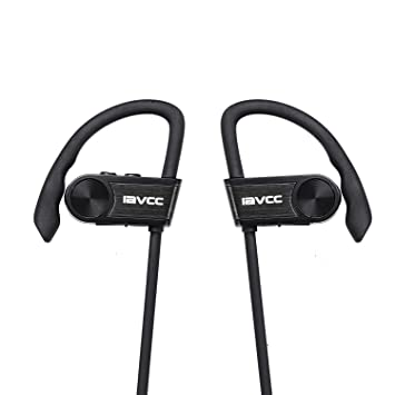 Auriculares Bluetooth, IAVCC Cascos Deportivos Inalámbricos (Micrófono, Resistente al Agua IPX6, Bluetooth