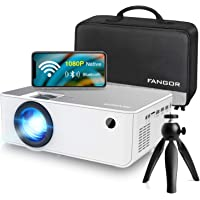 Deals on FANGOR 5500 Lumen 230-in Portable Movie Projector