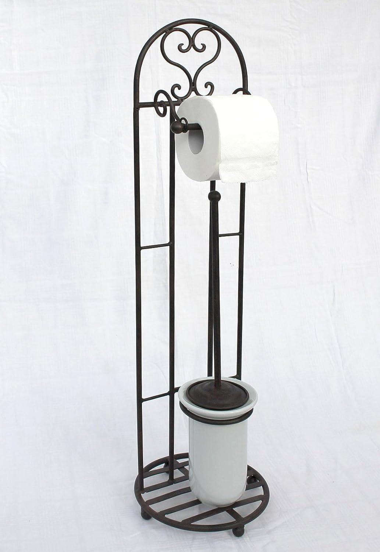 Toilettenrollenst/änder 81 cm mit B/ürste 95227 Toilettenpapierhalter Rollenhalter