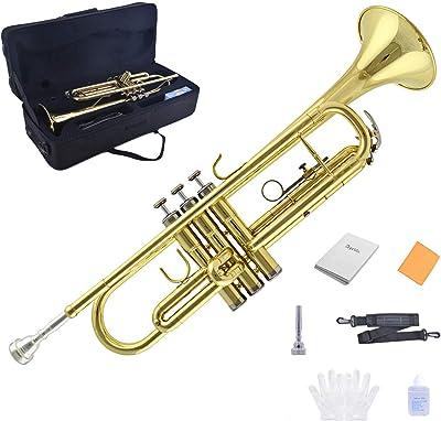 TRUMPET - Apelila Bb Key Brass Gold Lacquer