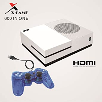best sneakers 4b774 b1a46 Classic Game Mini Station,X-Game Retro Game Consoles Entertainment System  With 600 Games  Amazon.de  Games