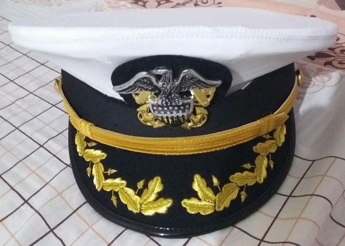 USA  navy admiral hat