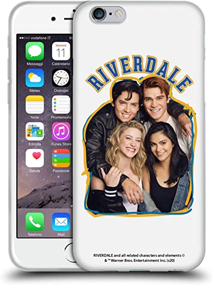 Official Riverdale Riverdale Cast 2 Art Soft Gel Case Compatible for Apple iPhone 6 / iPhone 6s