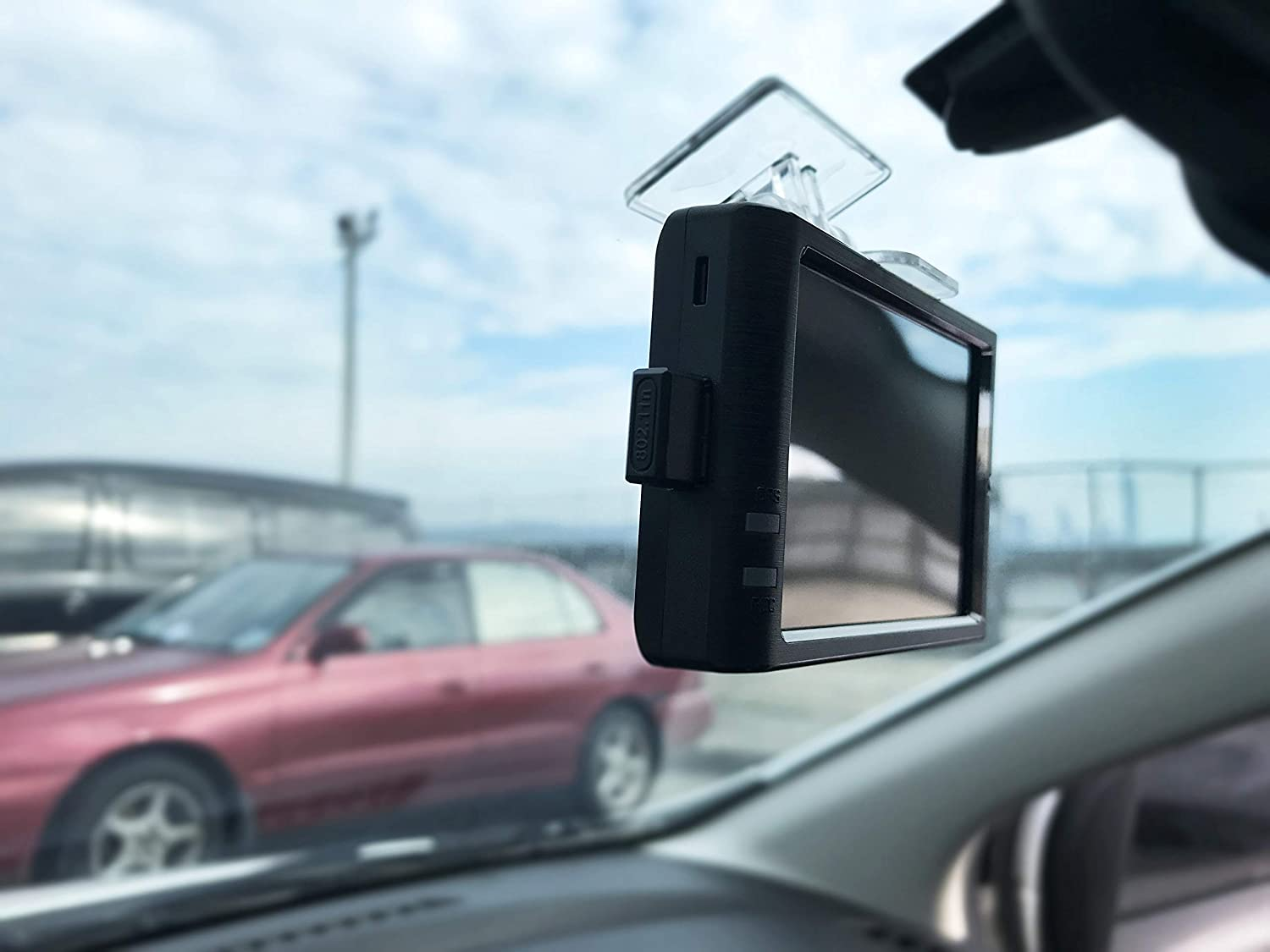 """PAPAGO GoSafe 366 Dash Cam 1080P FHD DVR Car Driving Recorder 3.5/"""" Touch Screen GS36616G Front and Rear Camera Set 16GB microSD Card Included"""