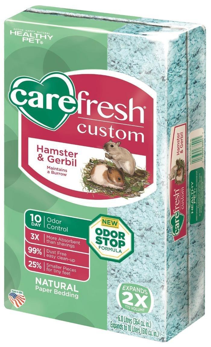 Carefresh Custom Hamster & Gerbil Bedding - Blue - 10 lt