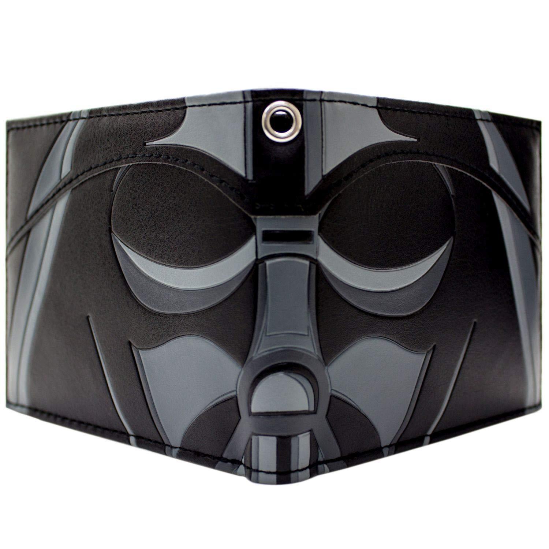 Star Wars Darth Vader Masque Close-Up Noir Portefeuille