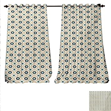 Amazon com: familytaste Patterned Drape for Glass Door