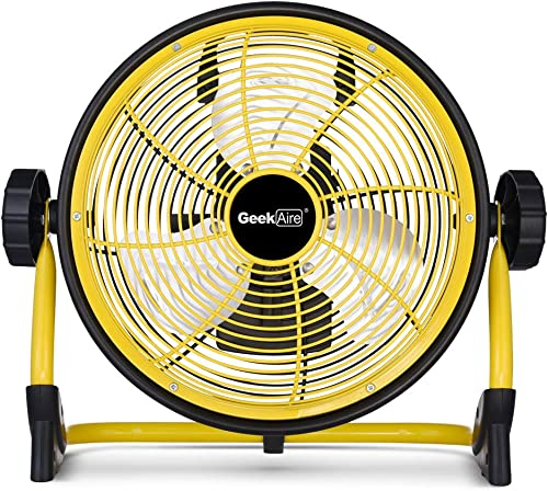 Geek Aire Rechargeable Outdoor High Velocity Floor Fan