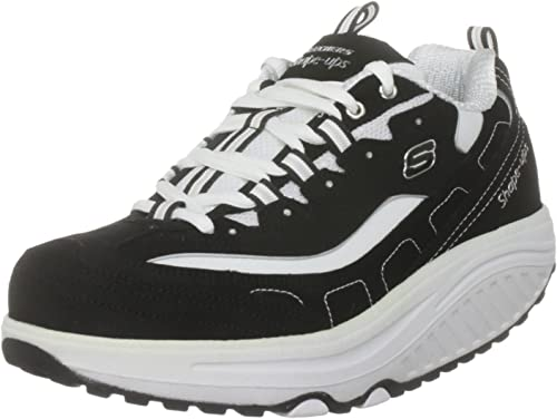 SKECHERS Shape UPS Metabolize Womens Fitness Trainers White