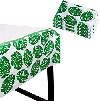 Amazon.com: Tropical Party Mantel – Pack de 3 fundas de mesa ...