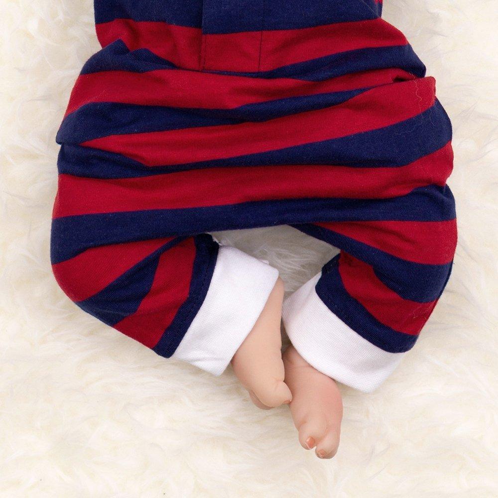 Honour & Pride Baby Pelele Joven Rojo Azul | Diseño: Polo | Baby Pelele En Polo Look para recién nacidos y niños pequeños, tamaño: rojo y azul Talla:0-3 ...