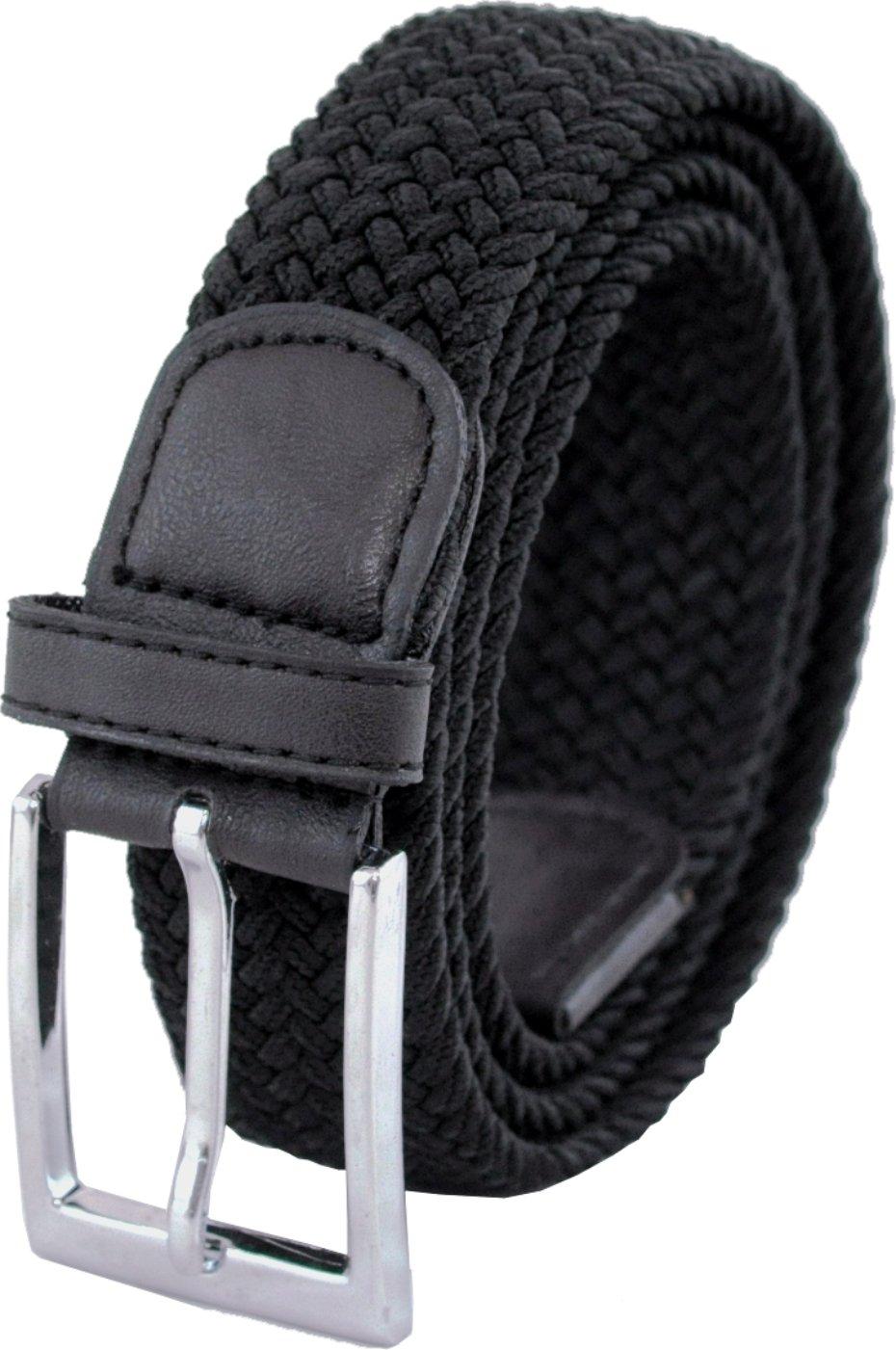 Ashford Ridge 33mm di cintura elastica per gli uomini - Nero o crema (81cm - 152cm)