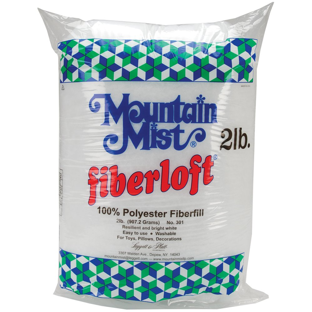 Mountain Mist Fiber loft Polyester Stuffing, 32 Ounces Sus Notions - In Network 301MM