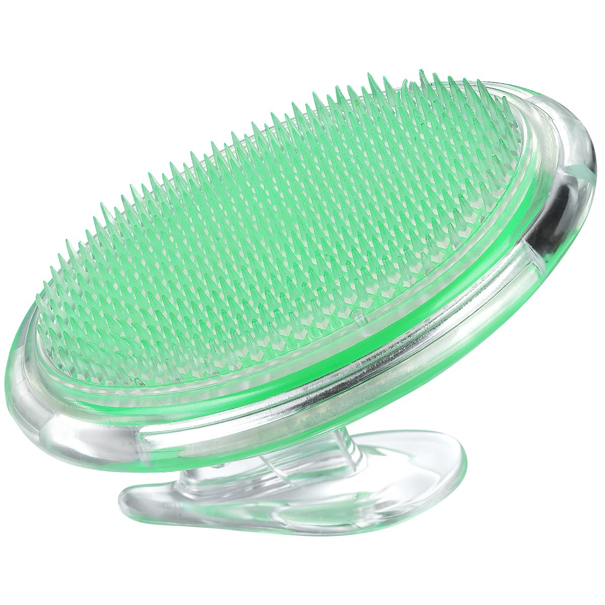 Coolife Ingrown Hair and Razor Bumps Treatment, Exfoliator Face Brush Fascia and Cellulite Blaster Acupressure Therapy Myofascial Release Tool Body Massager Brush for Men and Women - Green