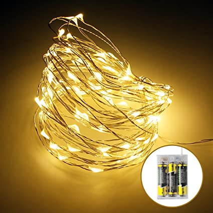Micro Led String Lights Best Amazon Micro LED String Lights 60 Set 60ft Rope Lights Copper