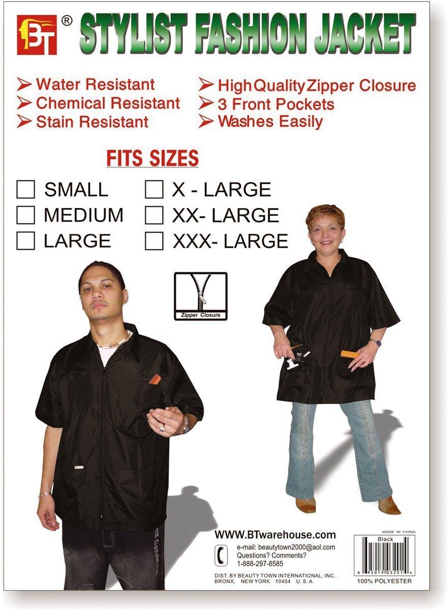 xlarge, black Hair Stylist Jacket